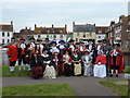 SY9287 : Wareham: town crier competition entrants by Chris Downer