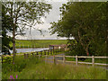 SD6716 : Entrance to Bolton Sailing Club, Belmont Reservoir by David Dixon