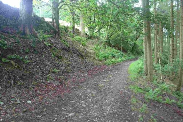 Bridleway near Barbon Manor