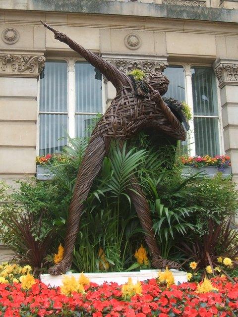 'Usain Bolt' in Victoria Square