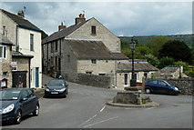 SK2474 : Village centre, Calver by Andrew Hill