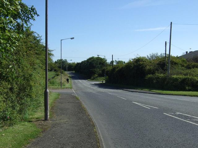 Redrow Drive heading north