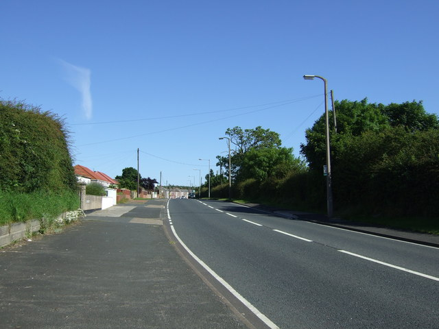 A1147 towards Stakeford