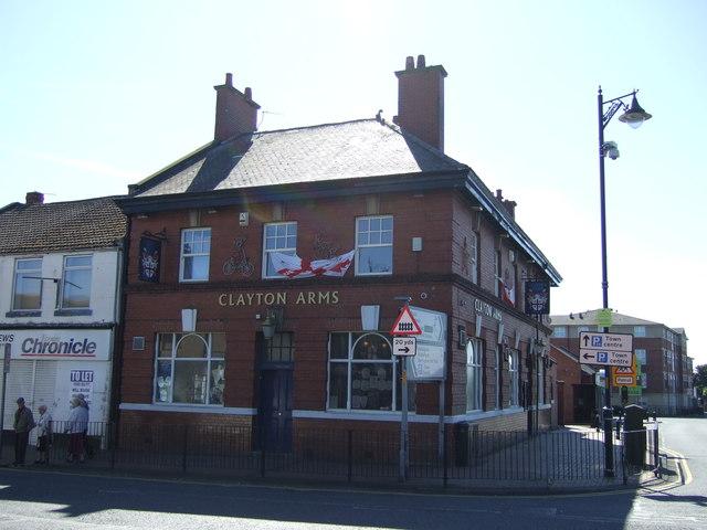 The Clayton Arms, Bedlington Station
