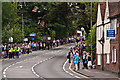 TQ2450 : West Street - waiting for the torch by Ian Capper