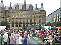 SK3587 : Sheffield Town Hall @ #tramlines by Dave Pickersgill