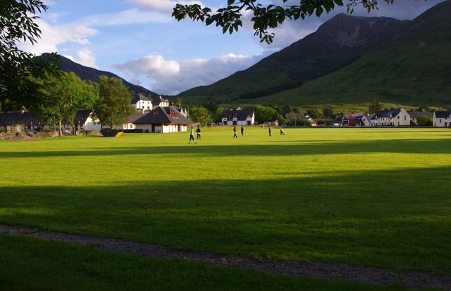 Shinty pitch, Ballachulish