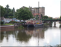 SK7954 : Newark, Notts (The Wharf) by David Hallam-Jones