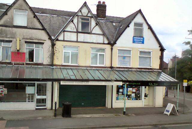 Shops on Wilmslow Road