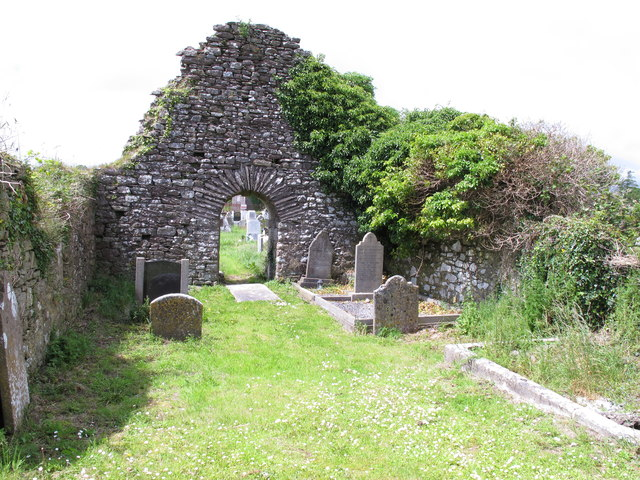Ruins of old church, Rathcooney Cemetery