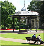 SK7954 : Newark, Notts (Castle Gdns) by David Hallam-Jones
