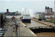 TA1916 : Immingham Docks by roger geach