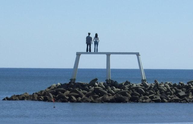 Couple, Newbiggin-By-The-Sea