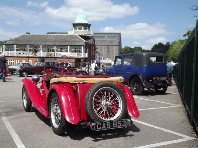 Vintage Car at Brooklands