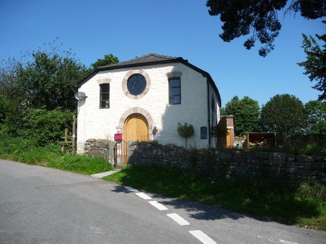 Converted chapel at Penallt