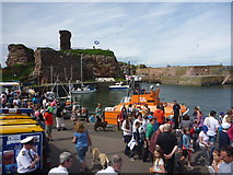 NT6779 : Dunbar Lifeboat Day - 21st July 2012 : Watch Out! There's A Dalek In The Lifeboat! by Richard West