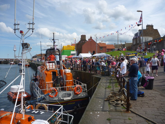 Dunbar Lifeboat Day - 21st July 2012 : A Good Turnout