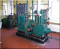 NM4167 : Lighthouse engine room, Point of Ardnamurchan by Ian Taylor
