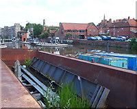 SK7953 : Newark, Notts (Canal Basin) by David Hallam-Jones