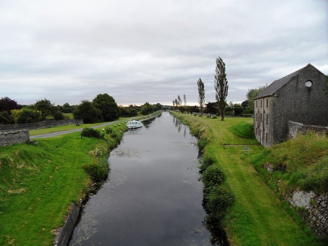 Grand Canal in Daingean, Co. Offaly