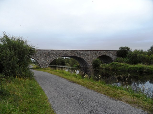 Bridge over the Grand Canal in Knockballyboy, Co. Offaly