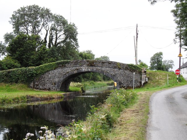 Ballycommon Bridge on the Grand Canal in Co. Offaly