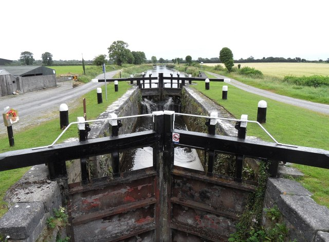 22nd Lock on the Grand Canal in Cappyroe, Co. Offaly