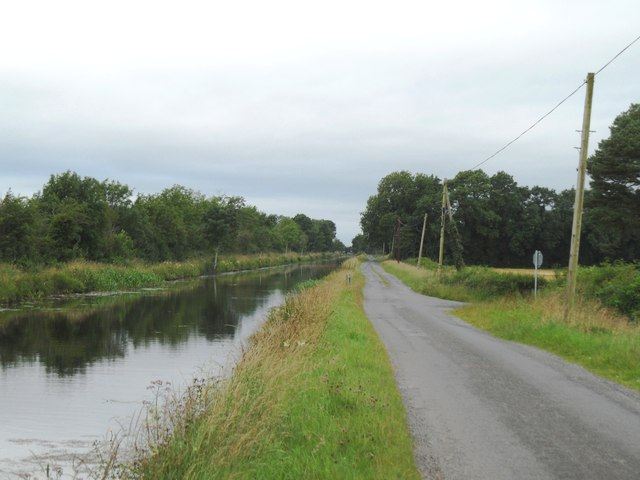 Grand Canal in Colehill, Co. Offaly