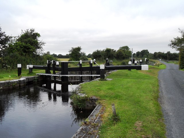 24th Lock on the Grand Canal, east of Tullamore, Co. Offaly