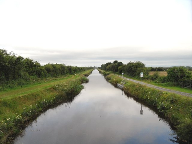 Grand Canal east of Tullamore, Co. Offaly
