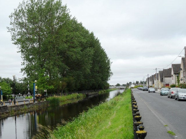 Grand Canal from Clontarf Road, Tullamore, Co. Offaly