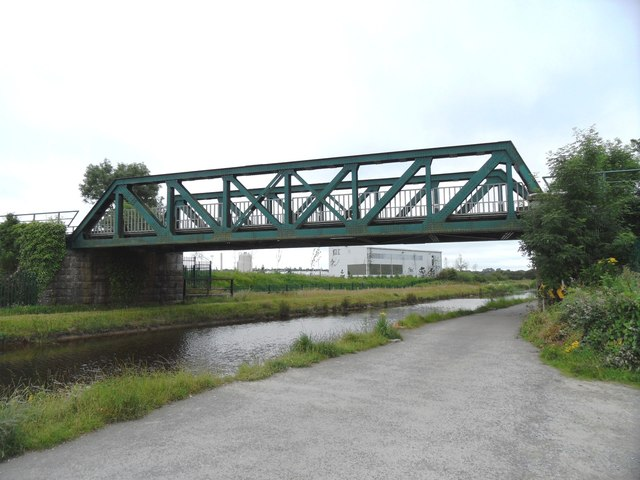 Railway Bridge on the Grand Canal in Tullamore, Co. Offaly