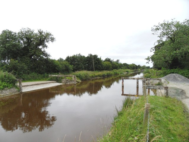 Cattle Ford on Grand Canal, Killiskea, Co. Offaly