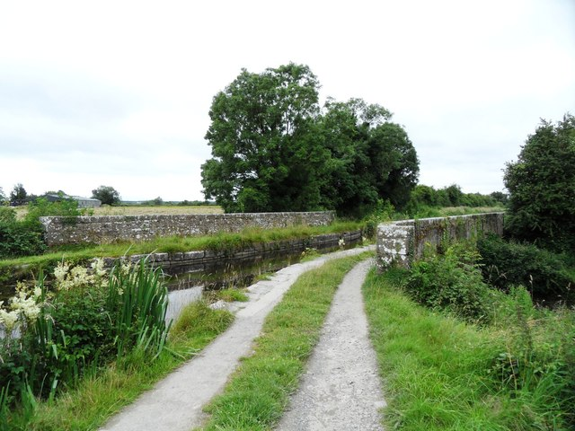 Aqueduct on the Grand Canal in Ballycowan, Co. Offaly.