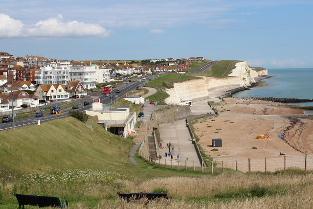Footpath to Saltdean Gap by Oast House Archive