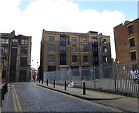 TQ3382 : Shoreditch, former warehouses by Mike Faherty