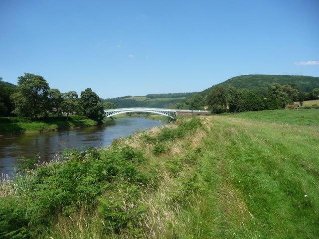 Bigsweir Bridge on the River Wye