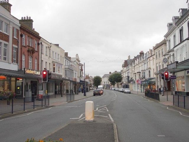 Mostyn Street - Gloddaeth Street by Betty Longbottom