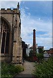 SK7953 : Newark, Notts (Parish Church) by David Hallam-Jones