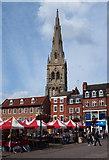 SK7953 : Newark, Notts (Mkt Place) by David Hallam-Jones