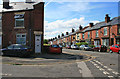 SK3690 : The junction of Vickers and Cammell Roads by David Lally