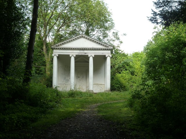 Summer House portico, Tring Park Wood