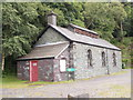 SH5860 : Former Loco Shed - Gilfach Ddu by Betty Longbottom