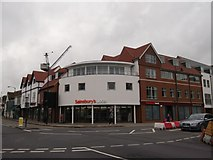 TR1458 : Sainsbury's Local, Canterbury by David Anstiss