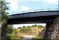 SO2309 : South side of a railway bridge near Big Pit Halt, Blaenavon by Jaggery