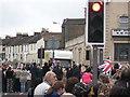 TQ7767 : Crowds on Canterbury Street, Gillingham by David Anstiss