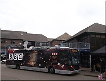TQ7568 : BBC Bus, Sun Pier, Chatham by David Anstiss