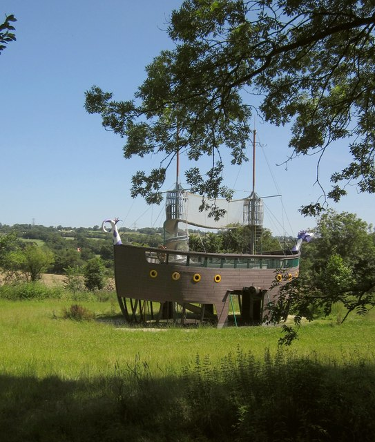 Ship, Glastonbury Festival site