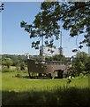 ST5939 : Ship, Glastonbury Festival site by Derek Harper