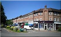 TQ0893 : Shops, Moor Park by Des Blenkinsopp